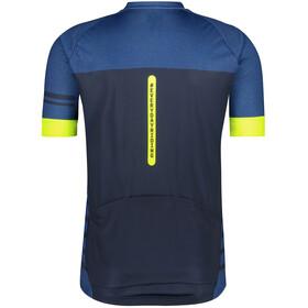 AGU Essential Melange SS Jersey Men, niebieski/czarny